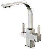 Комбинированный смеситель ZorG Sanitary ZR 332 YF NICKEL CLEAN WATER