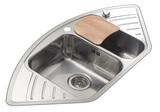 Кухонная мойка из нержавейки Reginox Empire R 15 LUX