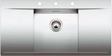Кухонная мойка из нержавейки Blanco FLOW 45 S-IF