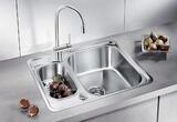 Кухонная мойка из нержавейки Blanco Lantos 6-IF