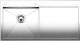 Кухонная мойка из нержавейки Blanco ZEROX 5 S-IF