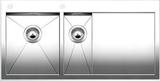 Кухонная мойка из нержавейки Blanco ZEROX 6 S-IF