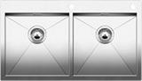 Кухонная мойка из нержавейки BLANCO ZEROX 400/400-IF/A