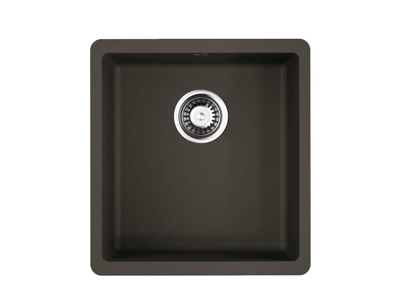 Кухонная мойка Omoikiri Kata 40-U-DC темный шоколад