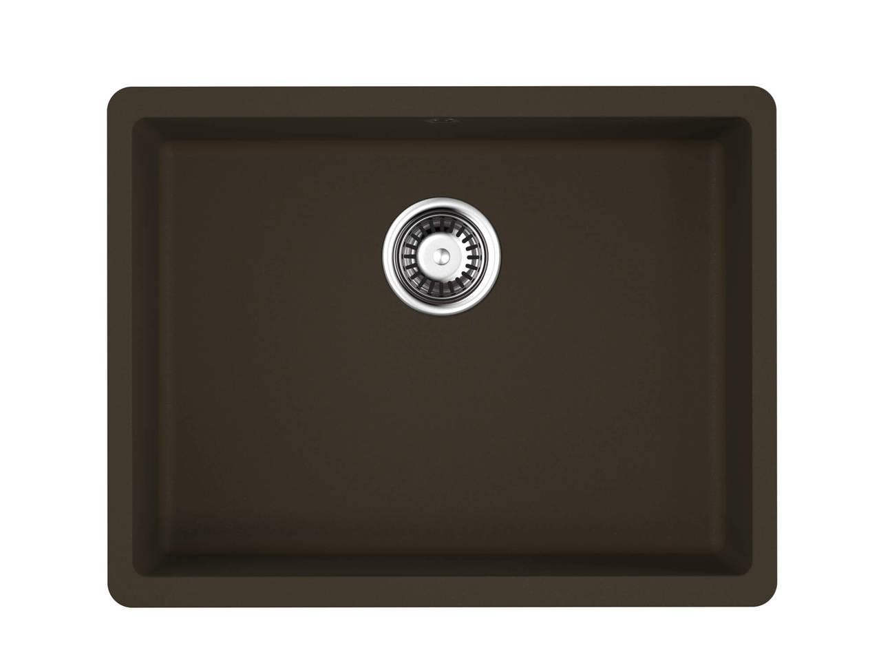 Кухонная мойка Omoikiri Kata 54-U-DC темный шоколад