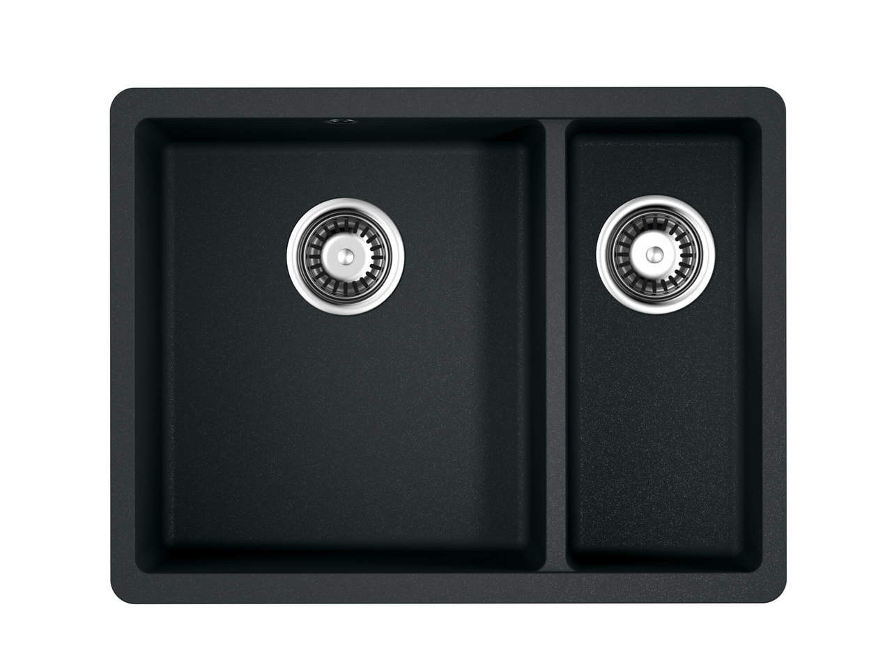 Кухонная мойка Omoikiri Kata 55-2-U-BL черный