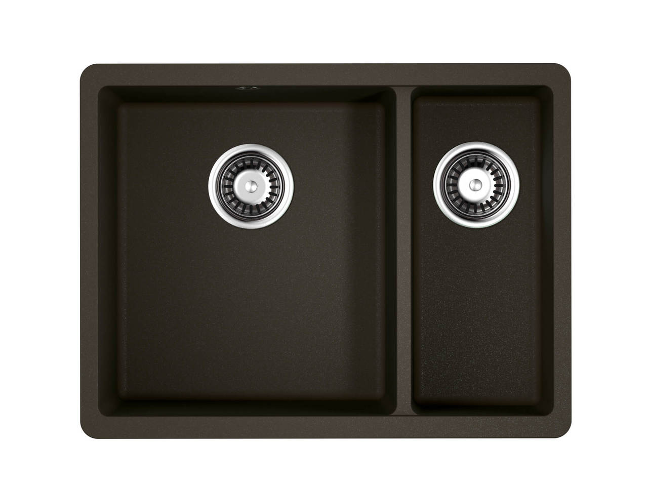 Кухонная мойка Omoikiri Kata 55-2-U-DC темный шоколад