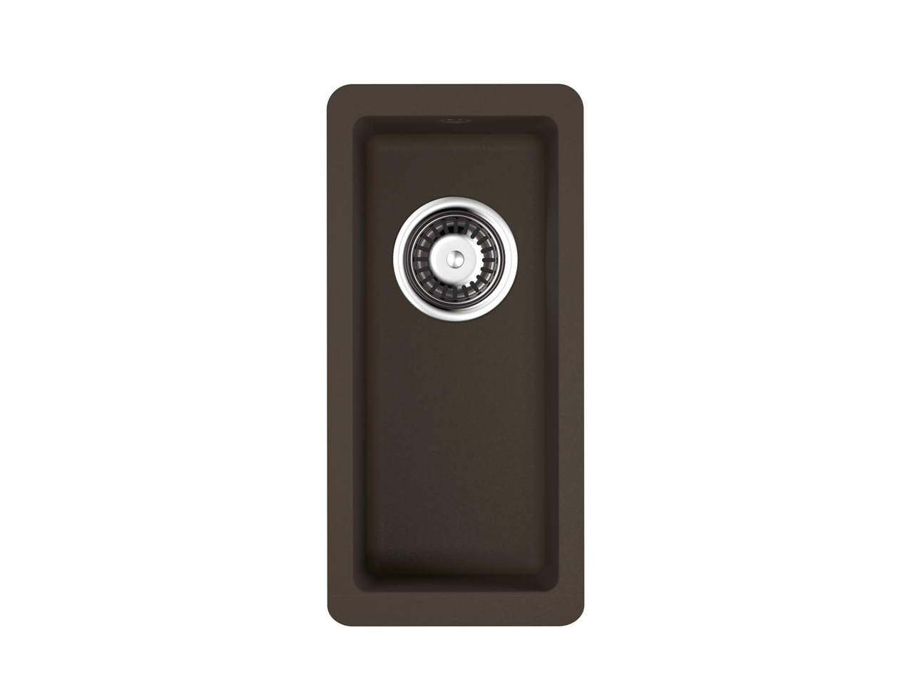 Кухонная мойка Omoikiri Kata 20-U-DC темный шоколад