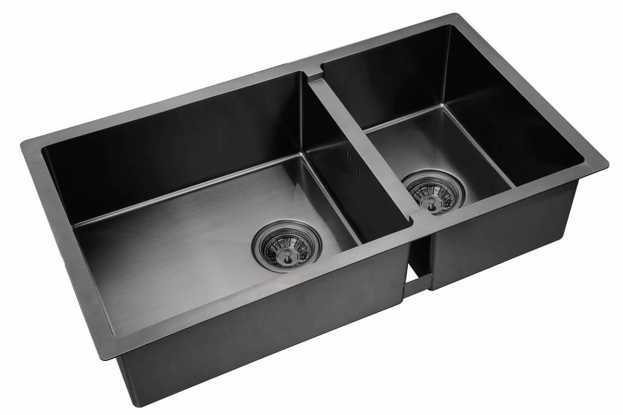 Кухонная мойка Zorg Inox Pvd SZR 78-2-44 GRAFIT