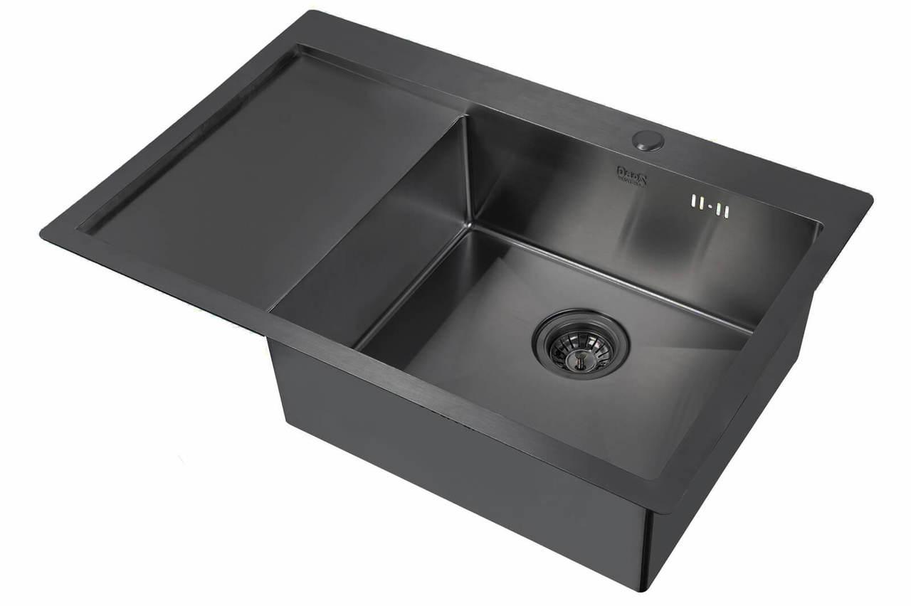 Кухонная мойка Zorg Inox Pvd SZR 7851-R GRAFIT