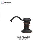 Дозатор для моющего средства OMOIKIRI OM-01-ORB античная бронза