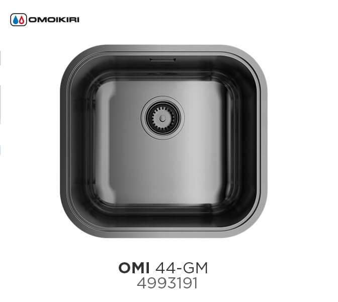 Кухонная мойка Omoikiri Omi 44-U/IF-GM