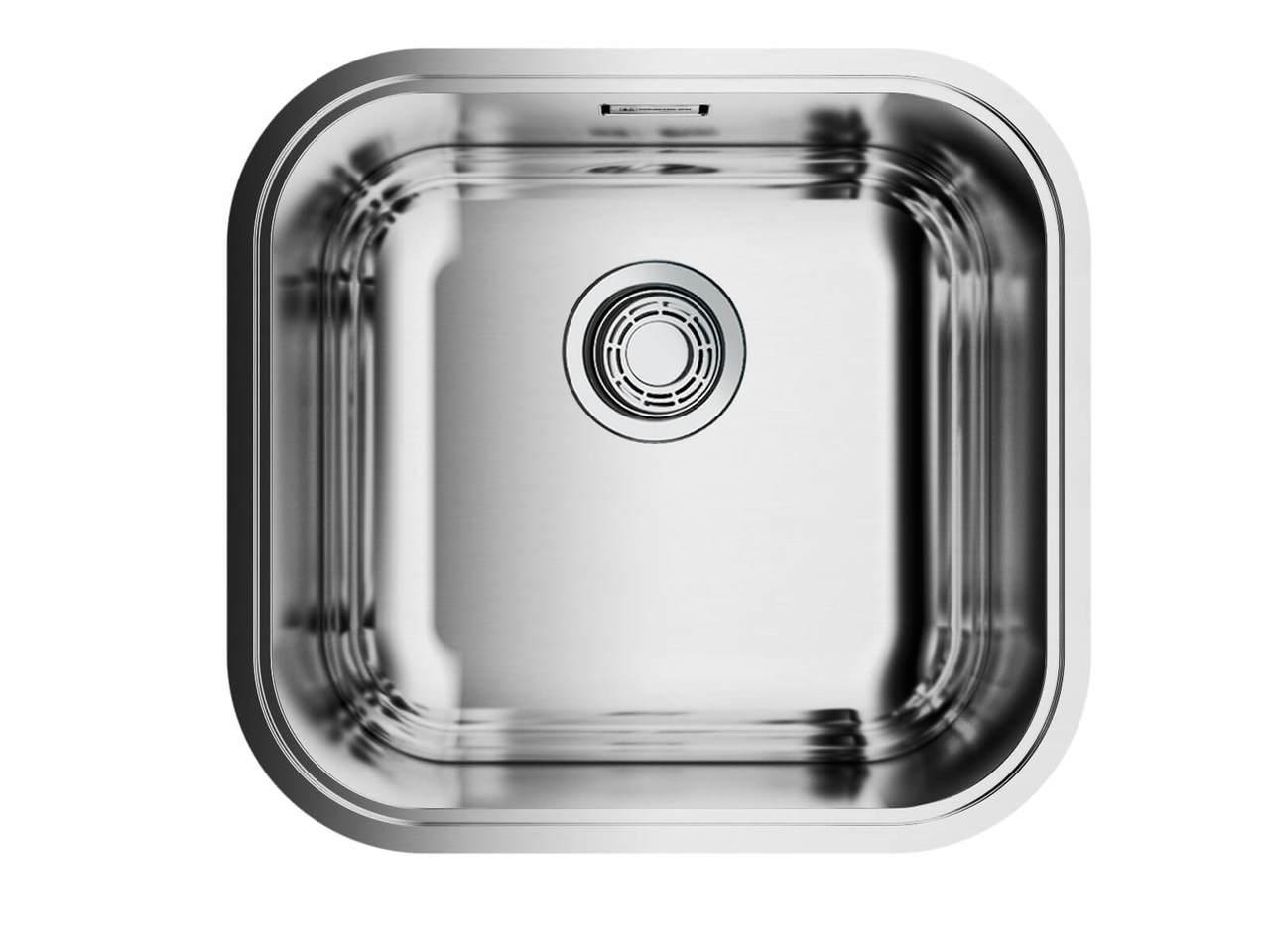 Кухонная мойка Omoikiri Omi 44-U/IF Quadro нержавеющая сталь
