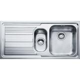 Кухонная мойка FRANKE LLL 651 сталь декор