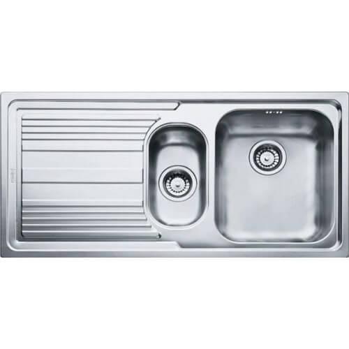 Кухонная мойка FRANKE LLX 651 сталь полированная