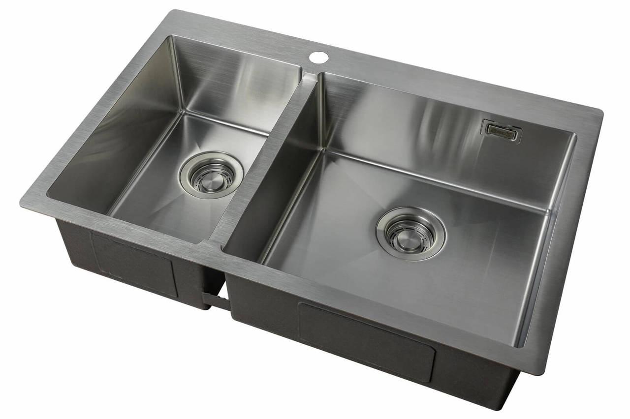 Кухонная мойка ZorG LIGHT ZL 780-2-510-R