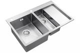 Кухонная мойка ZorG Sanitary INOX RX-5178-2-L