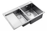 Кухонная мойка ZorG Sanitary INOX RX-5178-2-R