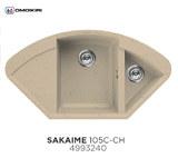 Кухонная мойка OMOIKIRI Sakaime 105C Шампань