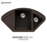 Кухонная мойка OMOIKIRI Sakaime 105C Темный Шоколад
