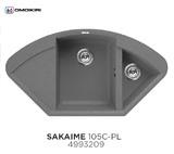 Кухонная мойка OMOIKIRI Sakaime 105C Платина