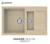 Кухонная мойка OMOIKIRI Sakaime 78-2 Шампань