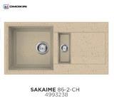 Кухонная мойка OMOIKIRI Sakaime 86-2 Шампань