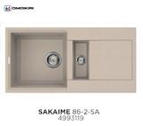 Кухонная мойка OMOIKIRI Sakaime 86-2 Бежевый