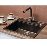 Кухонная мойка Schock Vero 60 в один уровень со столешницей