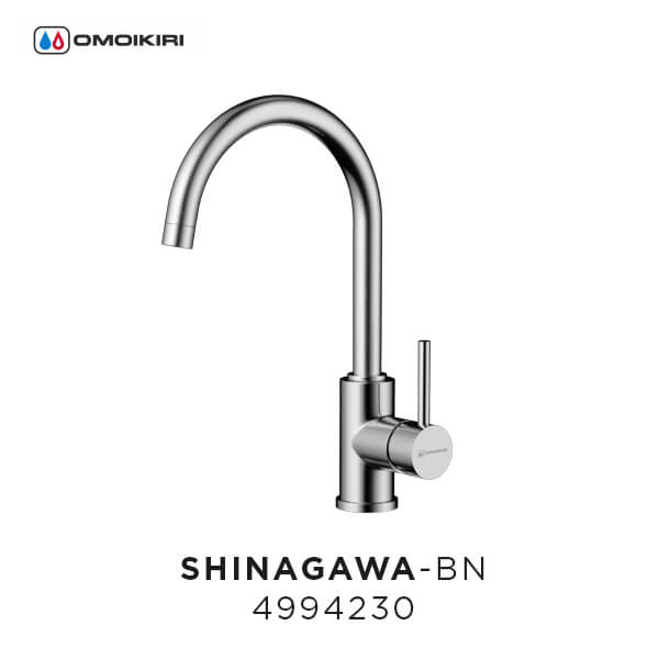 Смеситель Omoikiri Shinagawa-BN для кухонной мойки
