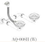 Вентиль AquaSanita AQ-008H стоп