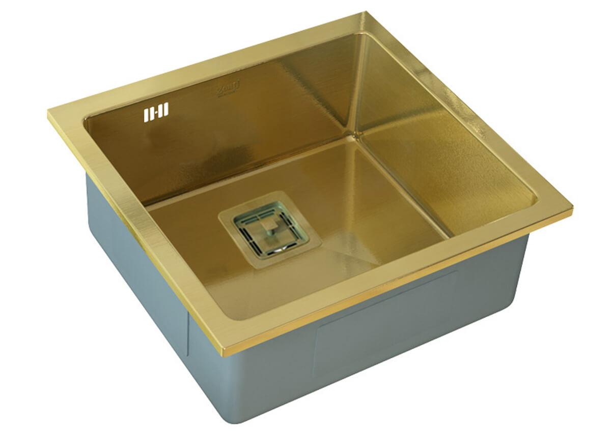 Кухонная мойка ZorG INOX SZR-44 BRONZE