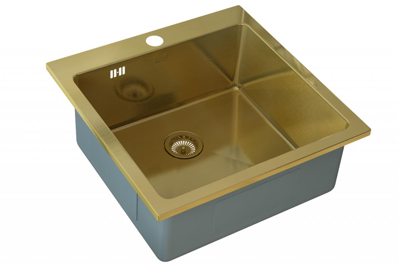Кухонная мойка ZorG Sanitary INOX SZR-51 BRONZE