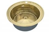 Кухонная мойка ZorG Sanitary INOX SZR-510/205-BRONZE-PL
