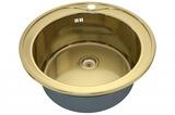 Кухонная мойка ZorG Sanitary INOX SZR-510/205 BRONZE