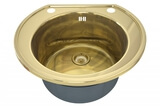 Кухонная мойка ZorG Sanitary INOX SZR 535/200 BRONZE
