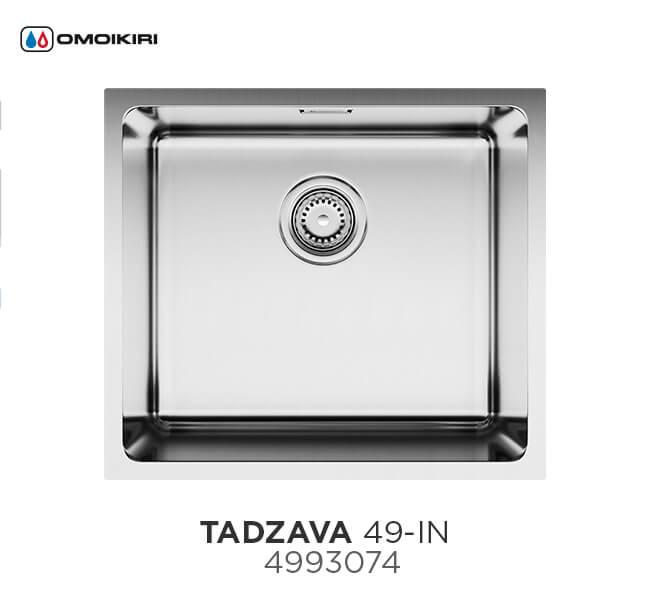 Кухонная мойка OMOIKIRI Tadzava 49-IN