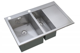 Кухонная мойка ZorG Sanitary INOX X-5178-2-L