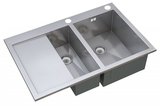 Кухонная мойка ZorG Sanitary INOX X-5178-2-R