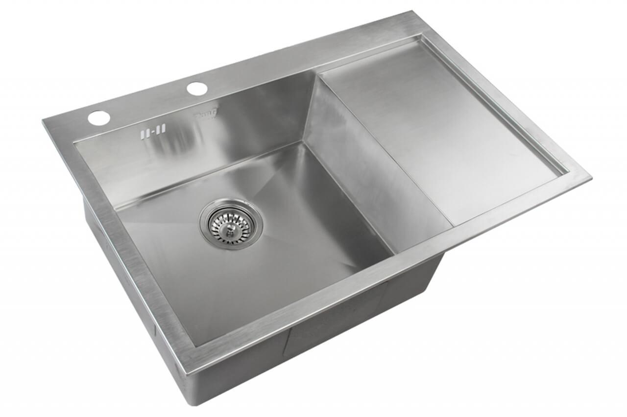 Кухонная мойка ZorG Sanitary INOX X-7851-L