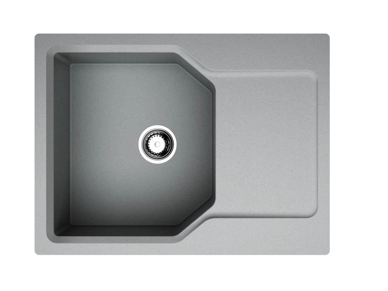 Кухонная мойка Omoikiri Yonaka 65-GR leningrad grey